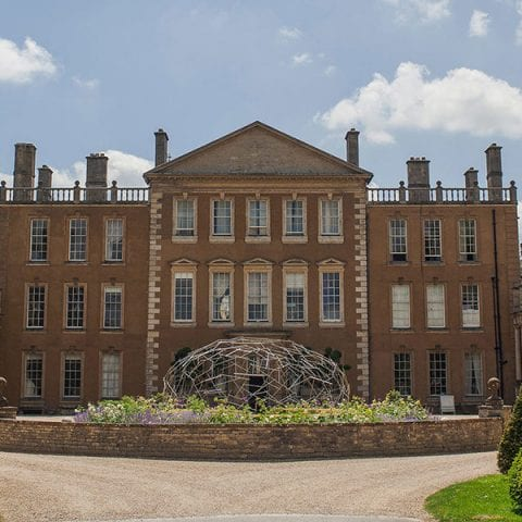 A stately manor on a sunny day