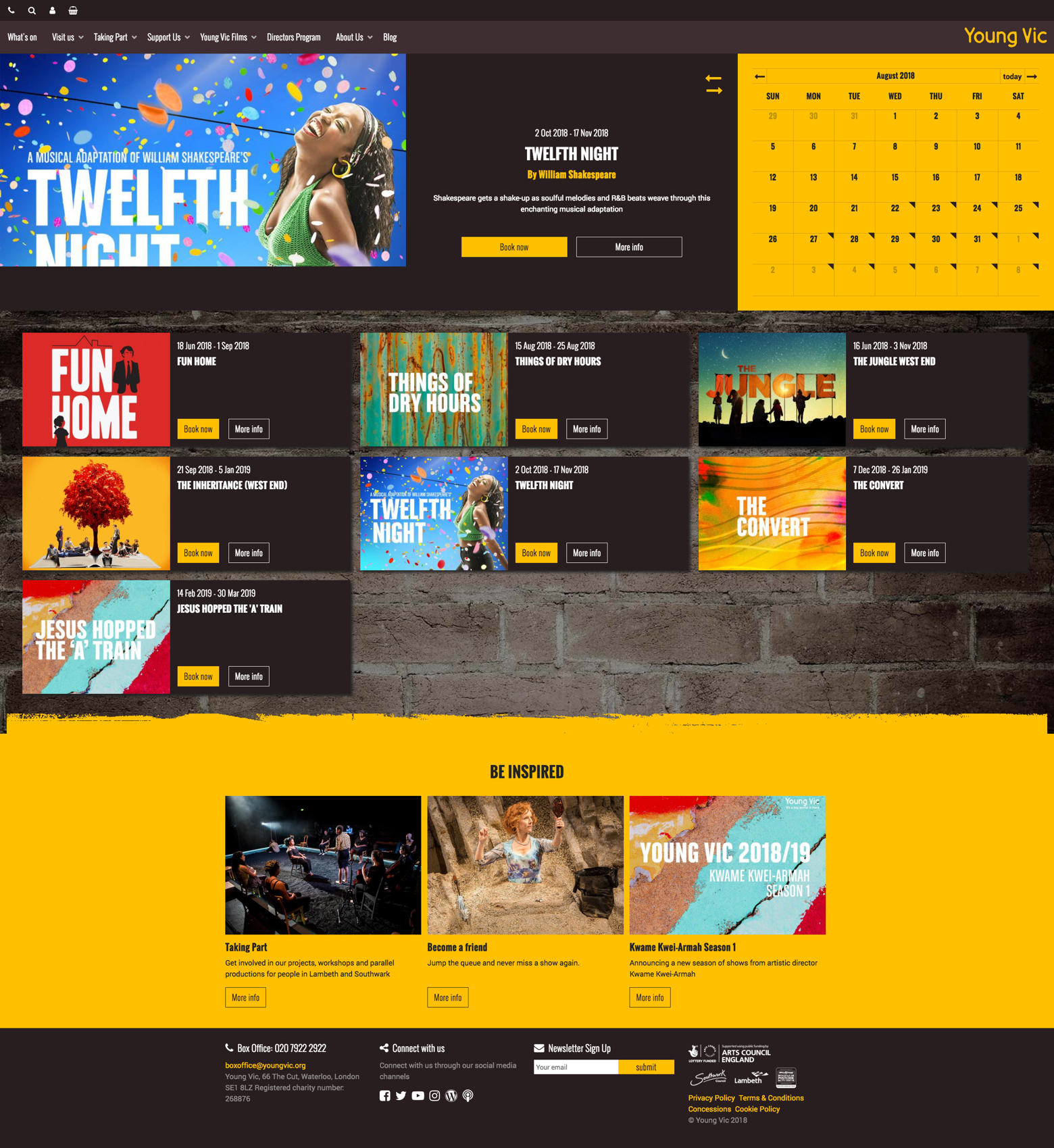 Young Vic Website
