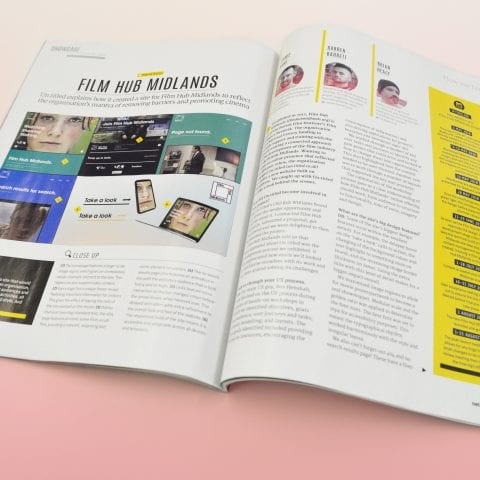 Article in NET Magazine on Film Hub Midlands
