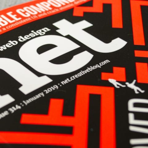 Front cover of NET Magazine, issue 314