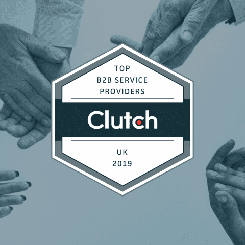 Clutch Top B2B Service Providers UK 2019 logo