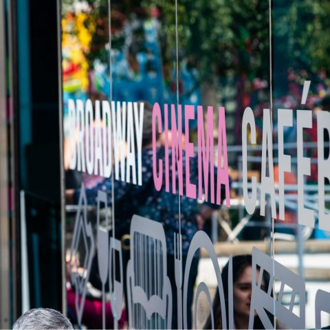 Window of Broadway Cinema Cafebar