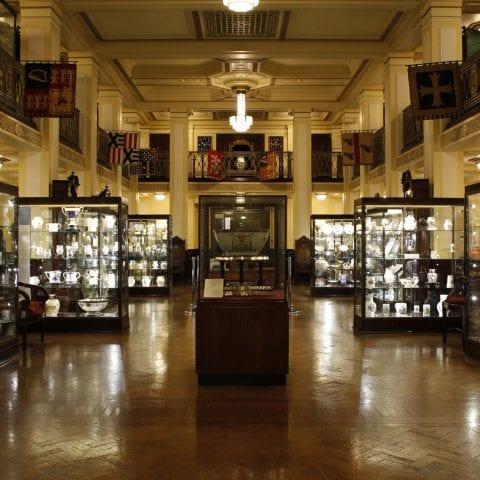 Inside the Museum of Freemasonry