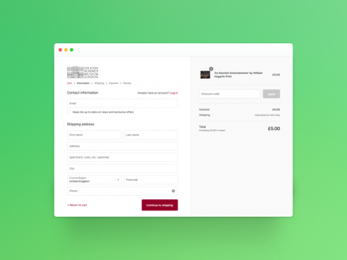What about Shopify Checkout?