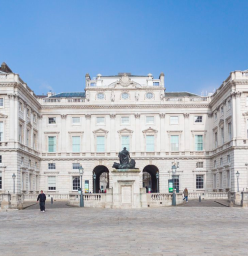 Somerset House, home of The Courtauld Institute of Art